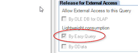 Publishing a BEx Query